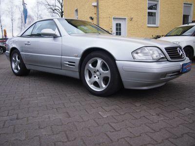 gebraucht Mercedes SL320 V6 DEUTSCH/XENON/BOSE/ALARM