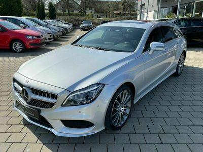 gebraucht Mercedes CLS500 Shooting Brake AMG Line/LED/Massage/360° als Kombi in Grünkraut