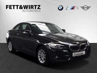 gebraucht BMW 220 i Coupé Sport Line Aut. LED Navi HiFi Alarm