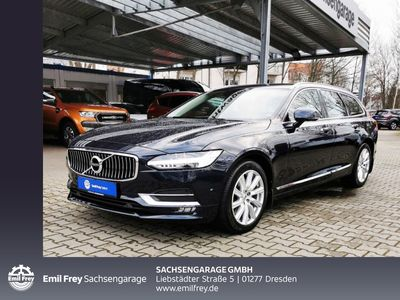 gebraucht Volvo V90 T6 AWD Geartronic Inscription Navi Voll-LED