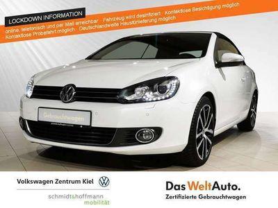 gebraucht VW Golf Cabriolet VI 1.2 TSI Exclusive Xenon Klima