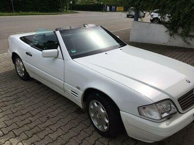 gebraucht Mercedes SL500 Scheckheft, Sammlerzustand