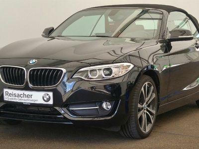 gebraucht BMW 218 i Cabrio Sport,Navi,Xe,LM,WS,Leder,SH,PDC,PDC