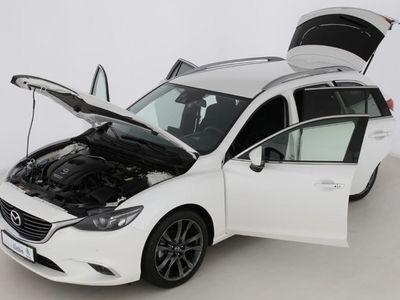 gebraucht Mazda 6 KOMBI SPORTS-LINE NAVI|KAMERA| | Gebrauchtwagen | Kombi | L354192