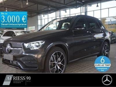 gebraucht Mercedes GLC300 d 4MATIC AMG+Distronic+Spur-P.+Night+LED