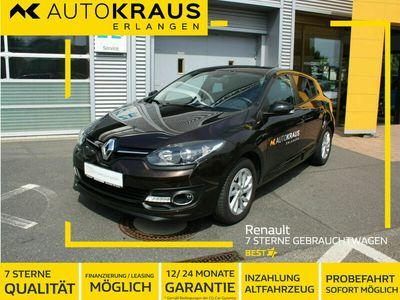 gebraucht Renault Mégane Limited dCi110 Autom. Deluxe *Navi,2xPDC*