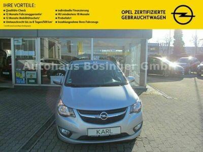gebraucht Opel Karl 120 Jahre Parkpilot Klima Bluetooth USB