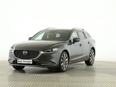 gebraucht Mazda 6 Kombi Sports-Line SLPLUS NAVI MRCC 0,99%
