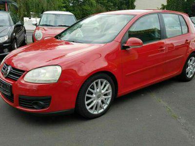 gebraucht VW Golf 2.0 TDI DPF GT*Klimaautomatik*8xAlu*AHK*