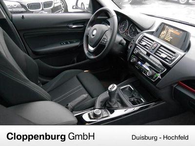 gebraucht BMW 116 d Sport Line 16Z PDC Tempomat USB Sitzh. Sportsitz