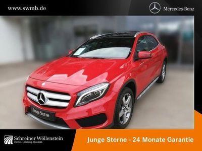gebraucht Mercedes GLA250 4M AMG *Pano.-Dach*Kamera*PDC*ILS*SpurP.