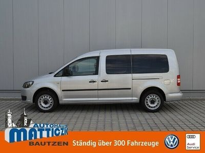 gebraucht VW Caddy Maxi Life 1.6 TDI OPTIK-PAKET/7-SITZER/CLIMATIC/S