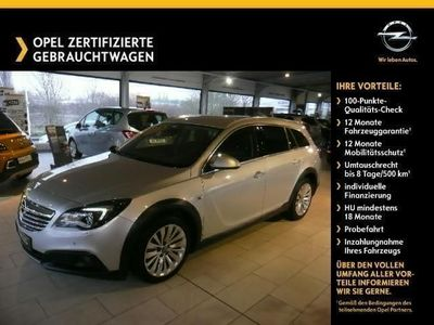 gebraucht Opel Insignia Country Tourer 4x4 2.0 CDTI