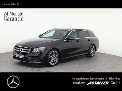 gebraucht Mercedes E300 d AMG ex/in+SHD+Kam+AHK+DAB+Nav+19''+Tot