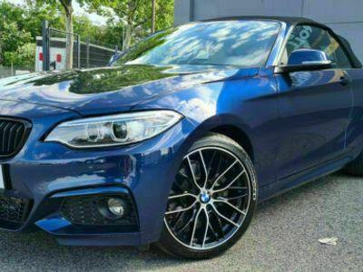 gebraucht BMW 228 i Cabrio M Sport/1.Hd/SZH/Navi/SH