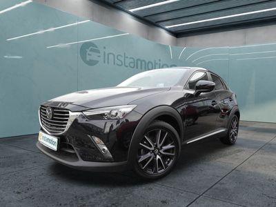 gebraucht Mazda CX-3 CX-32.0 SKYACTIV-G 120 Sports-Line Bluetooth