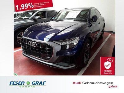 gebraucht Audi Q8 50TDI 3x S line/Matrix/Pano/ACC/AHK/4WD-Lenk