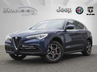 gebraucht Alfa Romeo Stelvio 2.0 Turbo 16V AT8-Q4 Super Navi ACC