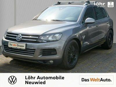 gebraucht VW Touareg V8 TDI Exclusive / AHK/ Panoramdach/ ACC