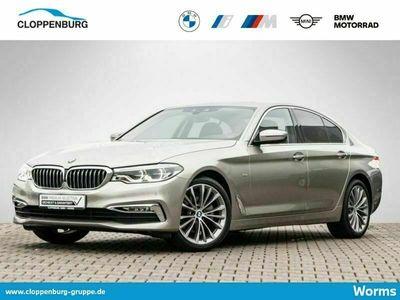 gebraucht BMW 520 d xDrive Limousine Luxury Line Head-Up HiFi - als Limousine in Worms