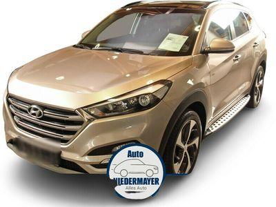 gebraucht Hyundai Tucson 1.7 CRDi blue Style 2WD Automatik, Pano, Navi, Sitzheizung vo. u. hi.