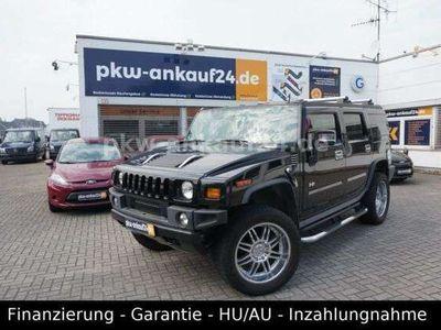 gebraucht Hummer H2 6.0 V8 Luxury Leder/SHD/AHK/Inspektion NEU