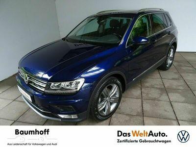 gebraucht VW Tiguan 2.0 TDI DSG HIGHLINE / AHK+PANO+19' -