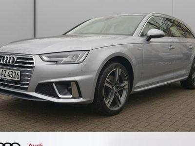 gebraucht Audi A4 Avant 40 TFSI sport S tronic S line Navi LED PDC