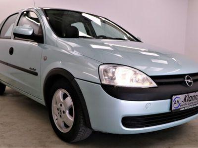 gebraucht Opel Corsa C 1.2 75PS Selection Automatik Schiebedach
