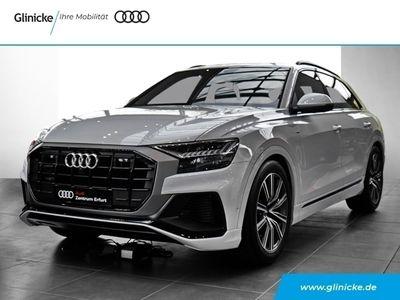 gebraucht Audi Q8 50 TDI quattro S line UPE 102.899,- Leder LED Navi Keyless AD HUD ACC Nachtsichtass.