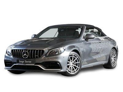 gebraucht Mercedes C63 AMG AMG Cabrio Sitzbelόftung Airscarf Burmester