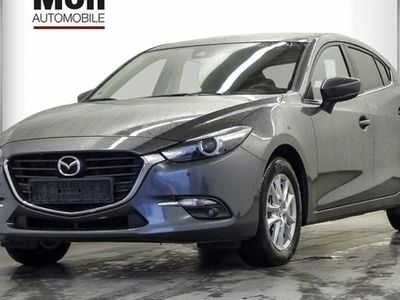 gebraucht Mazda 3 SKYACTIV-G 120 Exclusive-Line, ACT-P, Navi