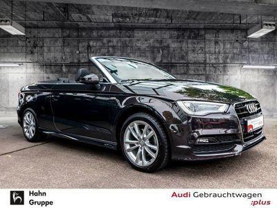 gebraucht Audi A3 Cabriolet 1.4TFSI S-line ACC Lane Navi Einparkh Si