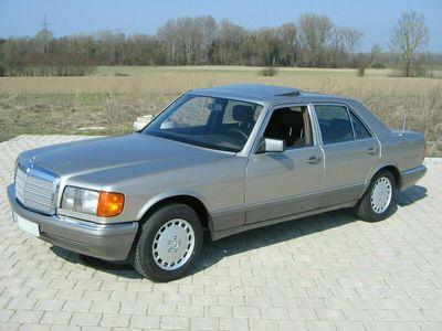gebraucht Mercedes 260 W126S-Klasse 1988 Kat 5-Gang !!
