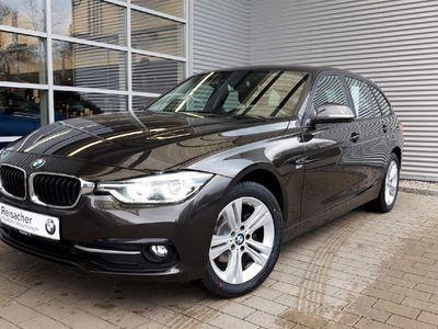 gebraucht BMW 318 d xDrive Touring,Sport Line,Navi,LED.PDC,Temp