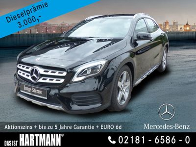 gebraucht Mercedes GLA180 AMG+NAVI+PDC+LED-SCHEINW.+SITZHZ+EURO6d