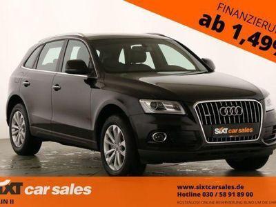 gebraucht Audi Q5 2.0TDI quattro Navi|Leder|Xenon
