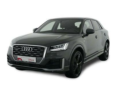 gebraucht Audi Q2 Sport 2.0 TDI qu S tro S Line Ext Navi,LED,19