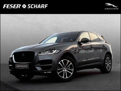gebraucht Jaguar F-Pace Prestige AWD 25d EU6d-T LED Navi Keyless e-Sitze ACC Rückfahrkam. Allrad El. Heckklappe