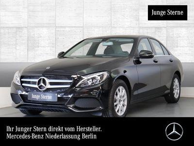 gebraucht Mercedes C180 LED Navi Totwinkel PTS 9G Sitzh Sitzkomfort
