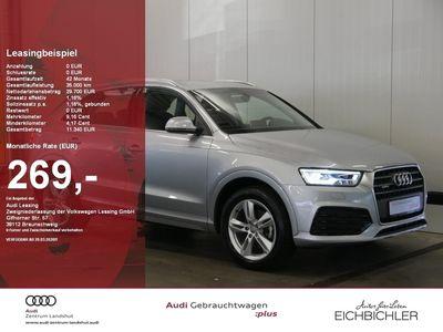 gebraucht Audi Q3 2.0 TDI quattro sport LED Navi Teilleder Keyles