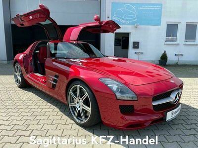 gebraucht Mercedes SLS AMG Coupe-Le Mans rot-Designo Leder-Kamera