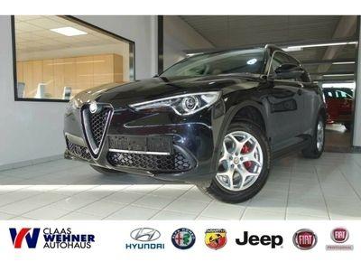 gebraucht Alfa Romeo Stelvio 2.0 Turbo 16V AT8-Q4 Super *Bi-Xenon,Totwinkelass.