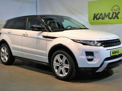 gebraucht Land Rover Range Rover evoque 2.2 SD4 Aut. Dynamic-Sportpaket +AHK abn. +Bi-Xenon +Navi-Premium +Meridian-Sound +Leder/Memory +Technik-Paket