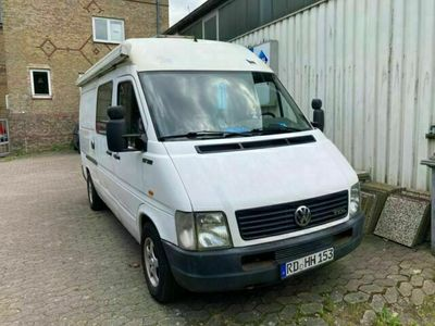 gebraucht VW LT 35 TDI Wohnmobilzulassung TÜV 9/22
