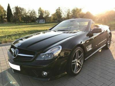 używany Mercedes SL63 AMG AMG-KEYLESS-DRIVERS P.-HK-VOLLAUSSTATTUNG