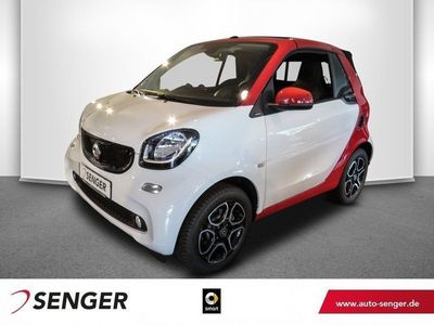 gebraucht Smart ForTwo Cabrio 66kW passion Cool&Audio LED&Sensor