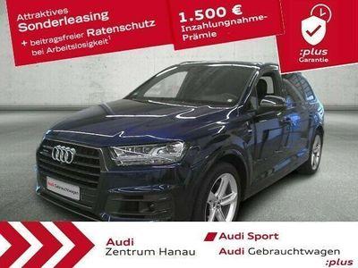 gebraucht Audi Q7 50 TDI S-line HD-MATRIX*AHK*PANO*7-SITZER*LUFT*