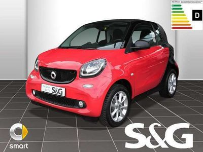 gebraucht Smart ForTwo Coupé 52 kW twin PASSION Tempomat+Navi+ph.