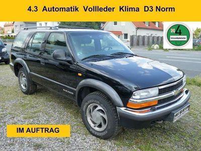 gebraucht Chevrolet Blazer 4.3 Automatik Vollleder Klima D3 Norm 4 x 4
